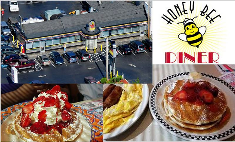 Enter for a chance to win a $50 Gift Certificate to HONEY BEE DINER