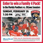 MH-Florida Panthers 2/26 Contest
