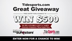 TideSports Great Giveaway EMBED