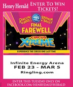 Win Circus tickets from the Henry Herald