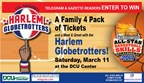 Meet & Greet the Harlem Globetrotters Sweepstakes