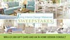 Spring Interior Design Makeover Sweepstakes