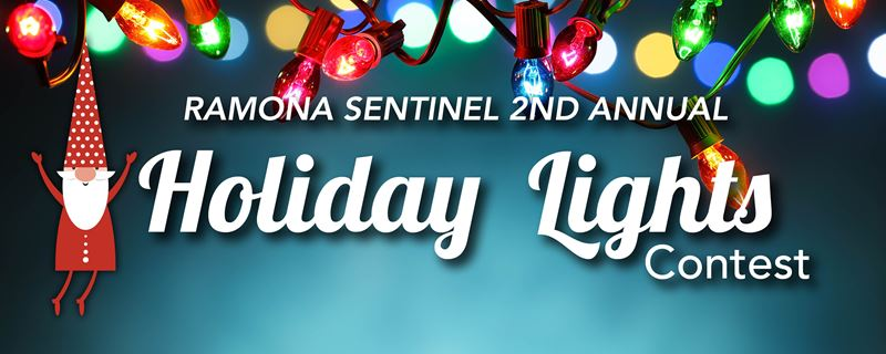 Ramona Holiday Light Contest 2020