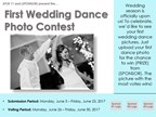First Wedding Dance Photo Contest