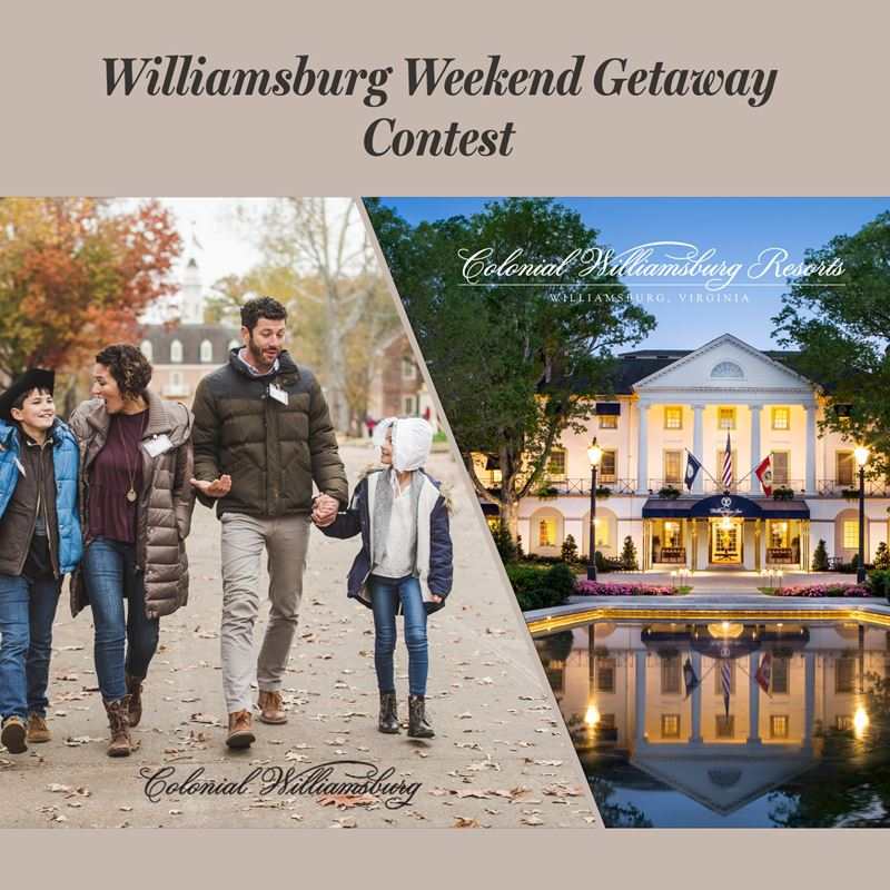Williamsburg Weekend Getaway
