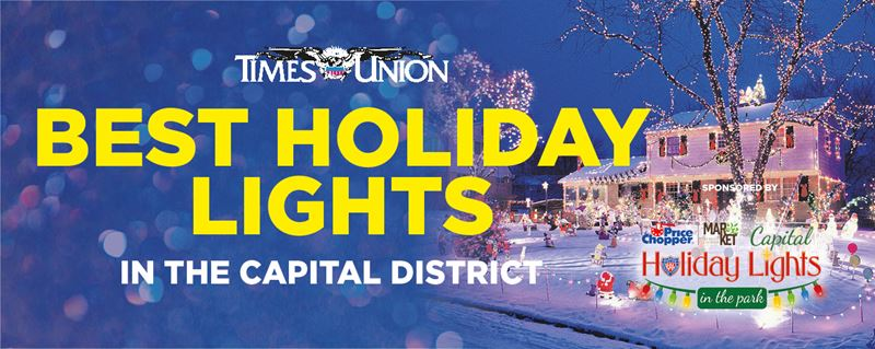 Best Holiday lights in the Capital District 2020