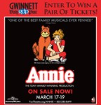 Win tickets to Annie at the Fox