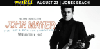 WIN TICKETS TO SEE JOHN MAYER!