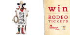 Win The Cows Rodeo Tickets