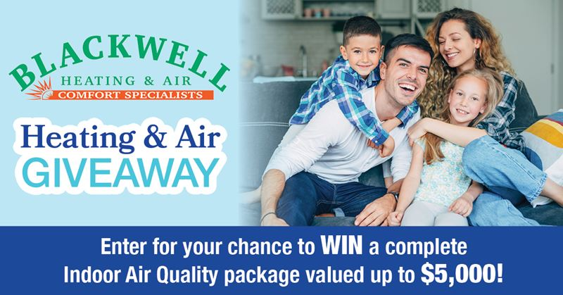 Blackwell Heating and Air Giveaway