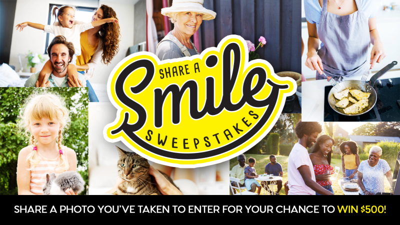 Share a Smile Sweepstakes