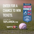 WFTV 2017 BRAVES SPRING TRAINING SWEEPSTAKES