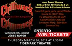 Chilliwack at the Tidemark Theatre  March 2017