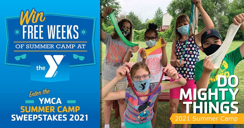 YMCA Summer Camp Sweepstakes 2021