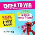 Sesame Street Times Contest