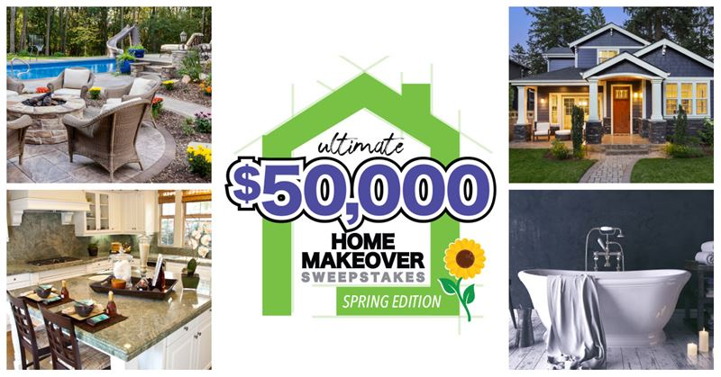 2021 Ultimate Spring Home Makeover Sweepstakes 2