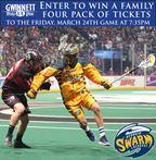 Win Georgia Swarm tickets