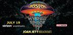 Boston with Joan Jett Online Exclusive