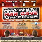 2015 March Madness Mancave Makeover