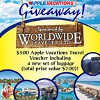 Apple Vacations Giveaway