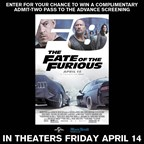 MH- The Fate of the Furious 8 Contest