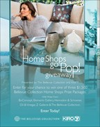 The Bellevue Collection-  Home Shops Go Pop Giveaway