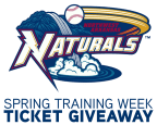 Northwest Arkansas Naturals Spring Training Week Giveaway