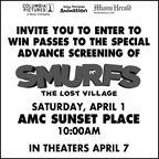 MH-Smurfs Advance Screening