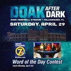 WJHG - Doak After Dark WOTD contest