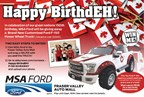ABB, MCR, ALT - Happy BirthdEH! F-150 Giveaway
