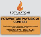 2017 Potawatomi Pays Big 21