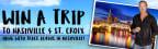 Meet Trace Adkins in Nashville & Jet to St. Croix
