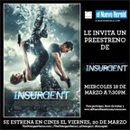 ENH 2015-Divergent Series-InsurgentMovie 3/10-3/16