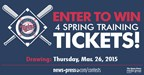 Spring Training Sweepstakes