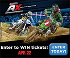 Enter to WIN tickets to Arenacross!