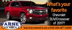What's your favorite Chevrolet SUV/Crossover of 2017?
