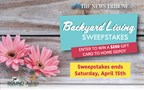 Backyard Living Sweepstakes