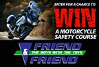 Friend & Friend: Win a Motorcycle Safety Course!