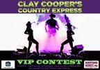 Clay Cooper VIP Contest