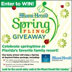 MH-GAYLORD SPRING FLING GIVEAWAY