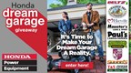 Honda Dream Garage Giveaway