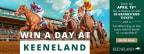 Keeneland Grandstand Ticket Giveaway!