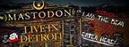 Mastodon Concert - 4/14