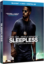 Sleepless starring Jamie Foxx Blu-ray Combo Pack Sweepstakes