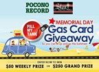 Memorial Day Gas Card Giveaway