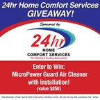 24 Hour Home Comfort Giveaway