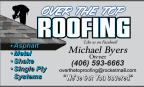 KXLF - Over the top Roofing - Roof