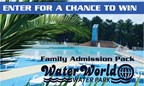 July Water World Family Admission Passes