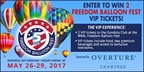 Freedom Balloon Fest Ticket Giveaway