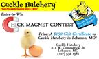 Cackle Hatchery Chick Magnet Contest